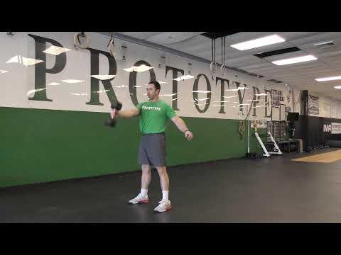 Single Arm Dumbbell Swing