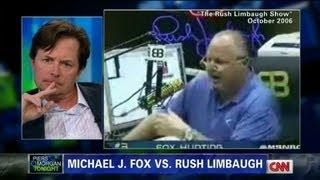 Michael J Fox on Rush Limbaugh's comments