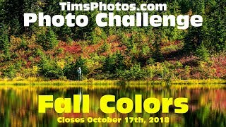 What are the top fall color landscape photos of 2018?