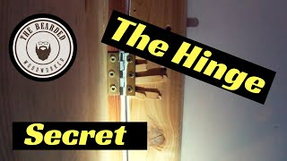 Hinges for the Hidden Passage