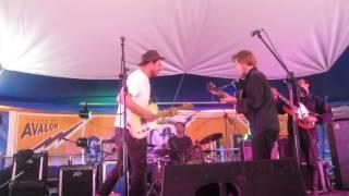 Gentlemen of the road Glastonbury 2014 Marcus Mumford & Johnny Flynn Tickle me pink
