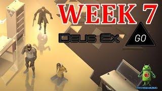 DEUS EX GO WEEK 7 Level 1 2 3 4 5 MASTERMIND WALKTHROUGH - PRITCHARD