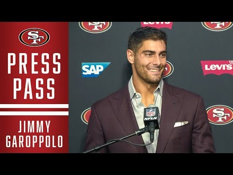 Jimmy Garoppolo: 'It's Always Good to be Undefeated' | 49ers