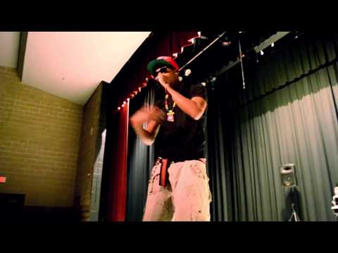 20wun Performing At Martin Luther King High School