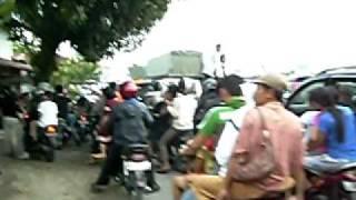 Kebakaran Pasca Gempa Di Padang