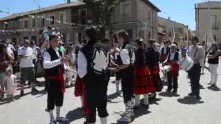preview picture of video 'Paloteo de La Matilla, Segovia. En Honor a San Roque, 16 de Agosto 2014.'
