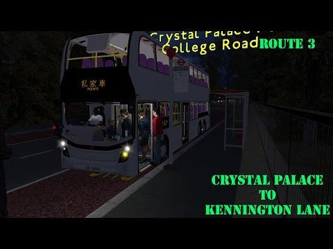 OMSI ] The South London Project Rt 3 To Kennington Lane - смотреть