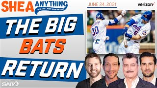 The Mets get some hits, as Keith sings some hits | Shea Anything Podcast | SNY