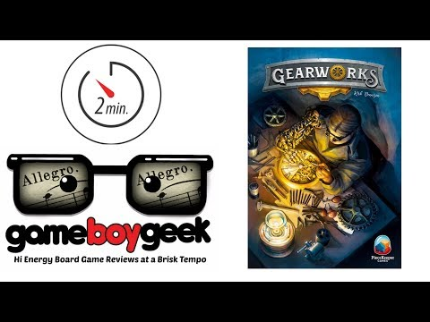 Gearworks (Allegro 2-min) Review with the Game Boy Geek