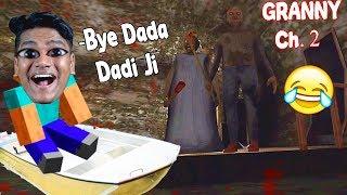Dada Dadi ki Boat Chura Ke Bhag Gaya [Granny Ch.2 Sewer Ending]