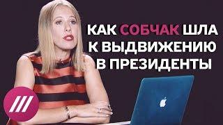 «За Русь усрусь»: как Собчак шла к выдвижению в президенты