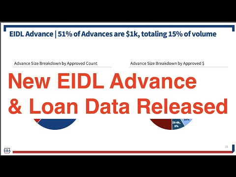 New EIDL Grant and Loan Data | Stimulus Check Updates