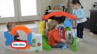 Игровой развивающий центр Волшебный домик Little tikes от компании ИП Урбанович Т. З. Прокат детских товаров Сморгонь - видео