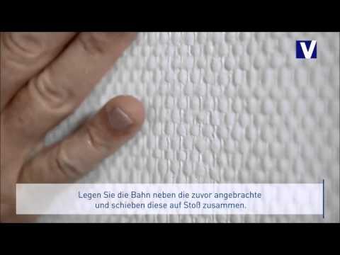 How to? Tipps und Tricks Vitrulan Glasfasertapeten und -vliese