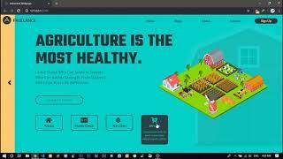 Simple Flat Web Page Theme