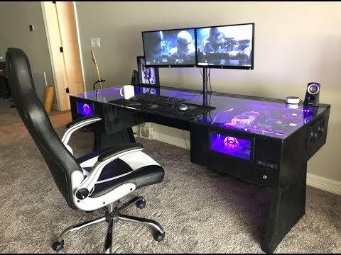 DIY Desk PC Build Timelapse