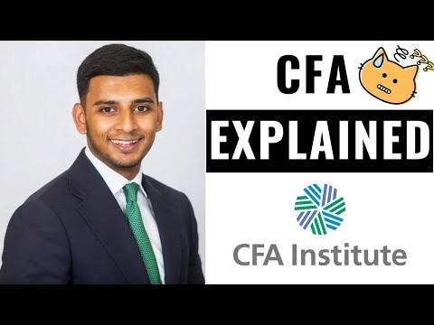 What is the CFA? (EVERYTHING YOU NEED TO KNOW!) - YouTube