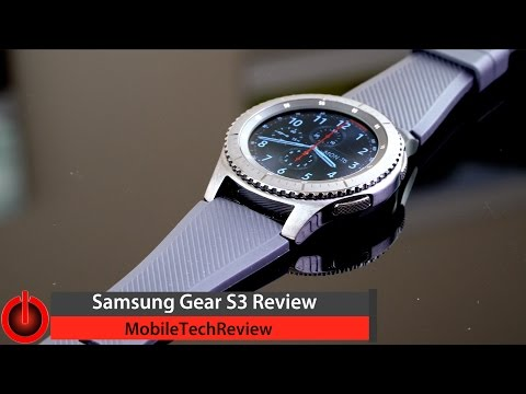 Samsung Gear S3 Review - The Best Samsung Watch Yet