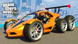 CRAZY MODDED VEHICLES!! (GTA 5 Mods)