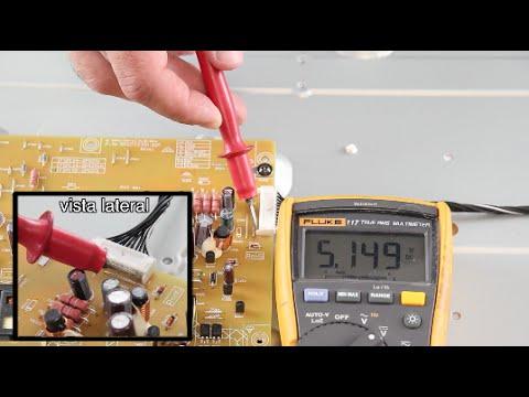 TV no enciende - Cómo diagnosticar un tv LED, LCD & Plasma que no prende o no tiene poder