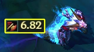 6.82 ATTACK SPEED WARWICK! New Attack Speed Record?! 3 Champions with 6+ AS!