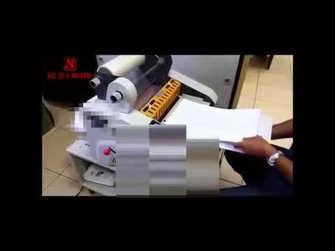 Laminadora NAV LAM 35AT con corte automático