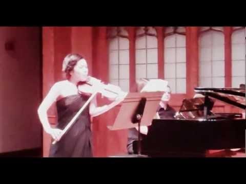 Ravel Violin Sonata II. Blues