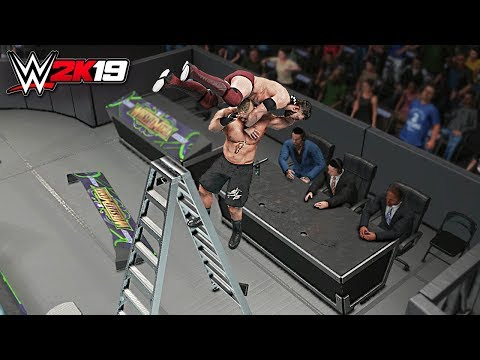 WWE 2K19 Top 10 Extreme F5's!