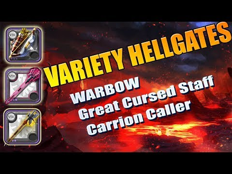 What are Hellgates in Albion Online? Albion Online PVP 2v2 Hell