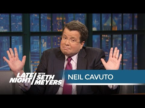 Fox's Neil Cavuto on GOP Debate Commercial Break Oddities - Late Night with Seth Meyers