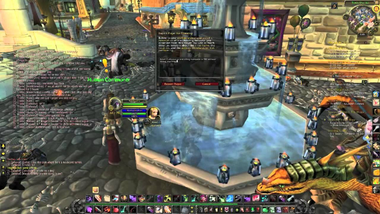 Hacker Sows Death Throughout World Of Warcraft With Just A Level 1 Character