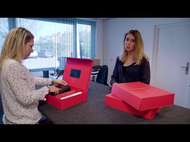 Vullen en verzenden VideoBox