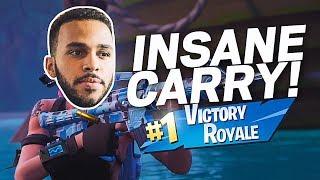 AN INSANE CARRY! FUNNY HIGH KILL RANDOM DUO