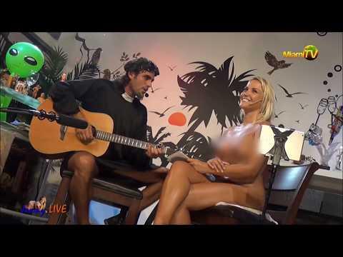 I wanna fuck you on the floor - The Rockadictos at Jenny Scordamaglia Show - MIAMI TV