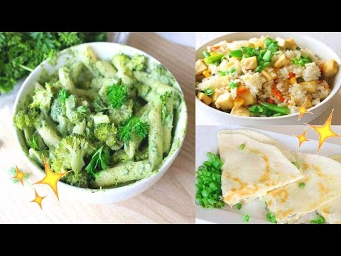 Easy & Healthy Dinner Ideas // Vegan Recipes 🌿