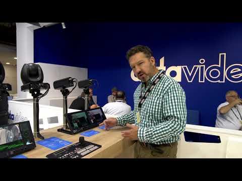 IBC 2017 - Datavideo TLM-102