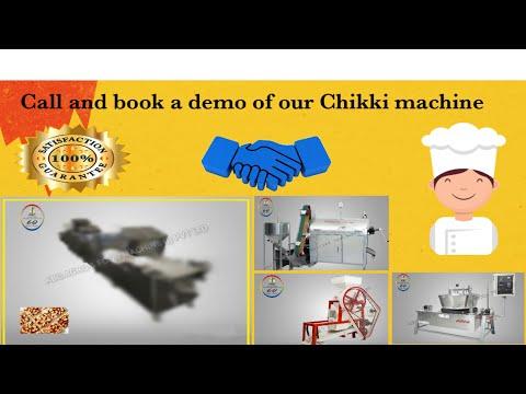 Chikki Jaggery Making Machine