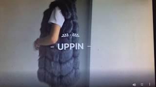 Женская, толстая, меховая жилетка для леди. от компании Интернет-магазин-Модной дешевой одежды. - видео 1