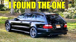 I Bought A TOTAL BARGAIN E55 AMG WAGON! 35K In Receipts, 550 HP & A Few Issues. Here's What I Paid!