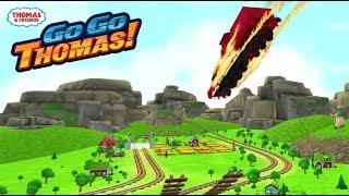 Tomas el tren en español - James y Diesel10 en carrera!! Go Go Completo