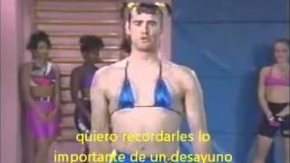 Jim Carrey  Vera De Milo  Aerobic(sub Español)
