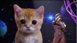 Miley Cyrus - Wrecking Ball American Music Awards 2013 [HD]