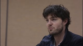 Tom Burke visits Women for Women International in Kosovo