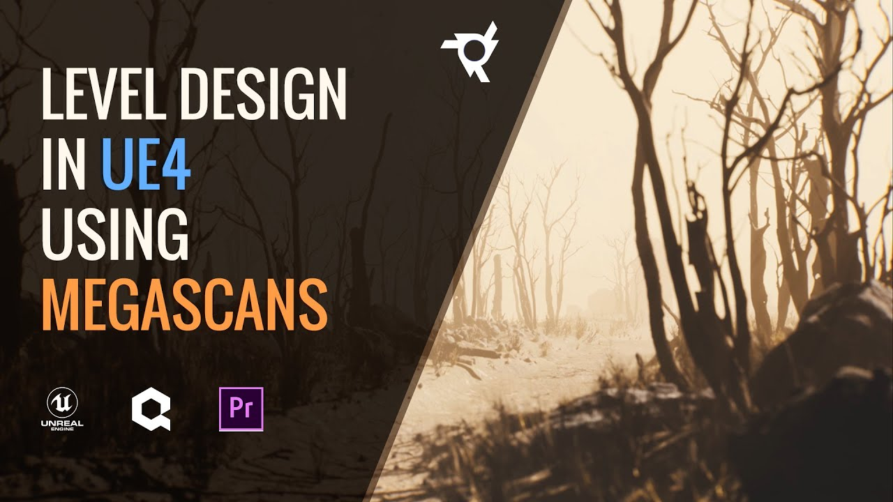 How to make a scene in Unreal Engine using FREE Megascans assets!