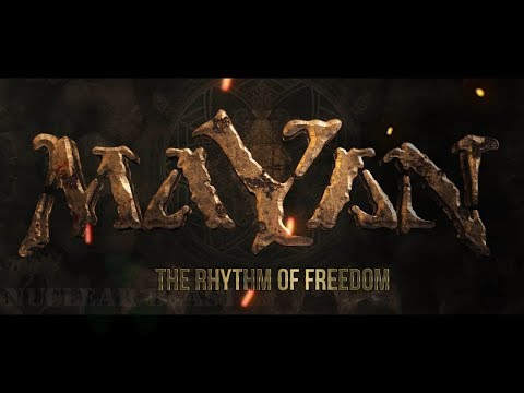 MaYaN - The Rhythm Of Freedom (OFFICIAL LYRIC VIDEO) online metal music video by MAYAN
