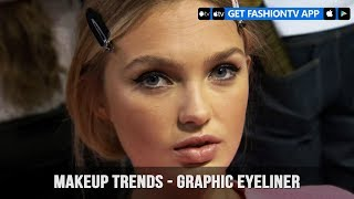 Makeup Trends Fall/Winter 2017-18 Graphic Eyeliner | FashionTV