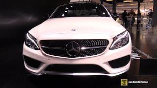 2015 Mercedes Benz C Class C450 AMG 4Matic - Exterior,Interior Walkaround - 2015 Detroit Auto Show