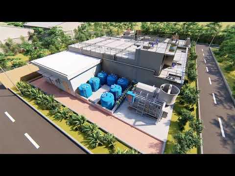 Hệ thống xử lý nước thải công nghệ UASB - Revit môi trường