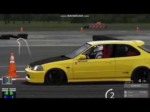 Nürburgring nordschleife on G27 Simulator and (integra type r turbo