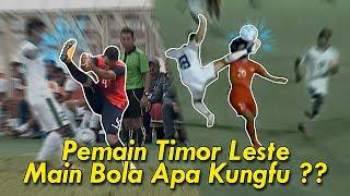 4 Kartu Merah Pemain Timor Leste Saat Lawan Indonesia